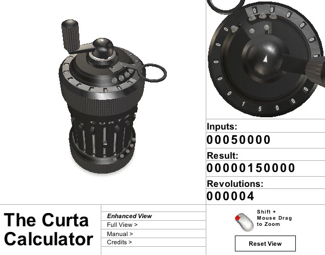 Patbelford com - new media adventures Projects/Curta Calculator